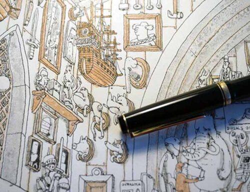 Le illustrazioni di MATTIAS ADOLFSSON