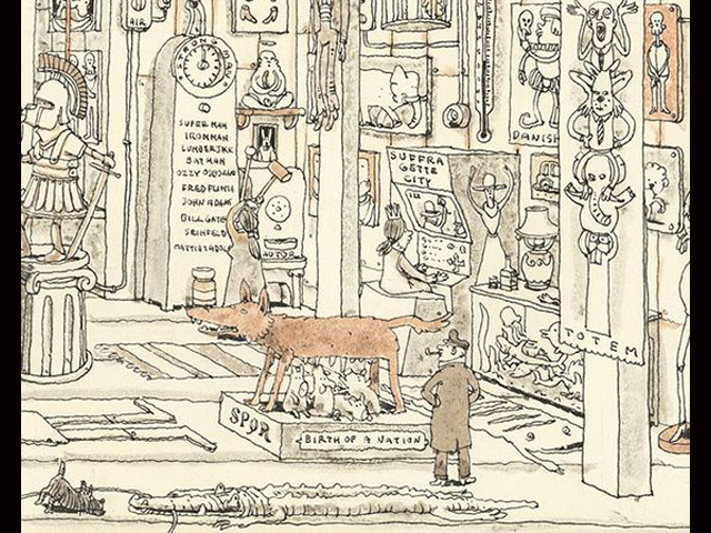 Particolare The Grand Hall, Mattias Adolfsson